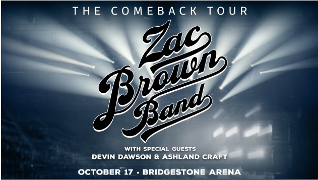 Zac Brown Band Online Sweepstakes