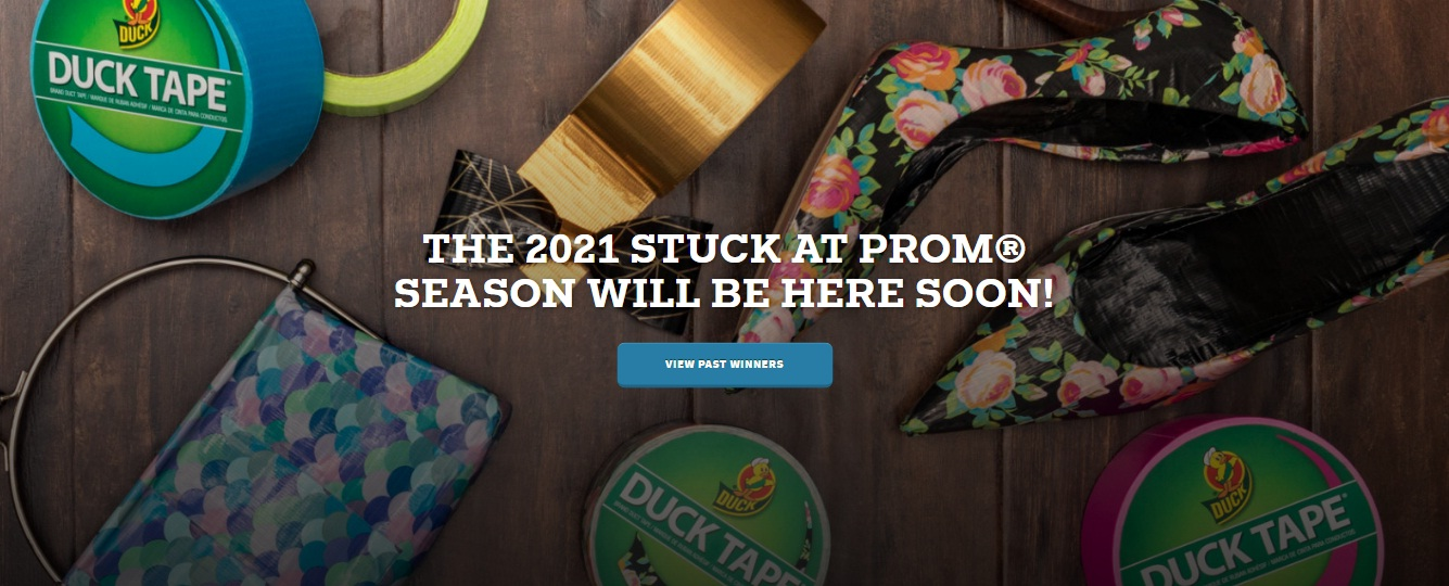 Duck Brand Stuck At Prom Scholarship Contest