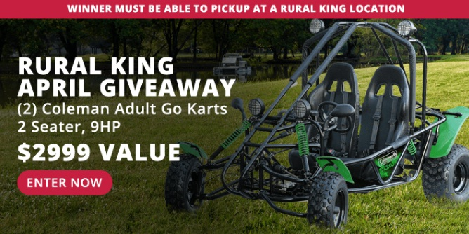 RK Holdings Rural King April Giveaway