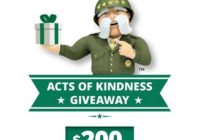 General Insurance Acts Of Kindness Sweepstakes