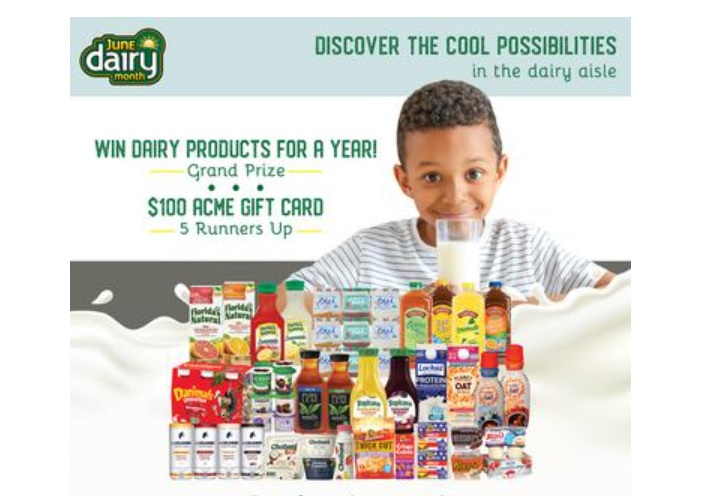 ACME Markets Dairy Sweepstakes