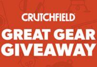 Crutchfield Great Gear Giveaway