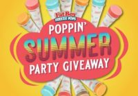FatBoy Freeze Pop Poppin Summer Party Giveaway