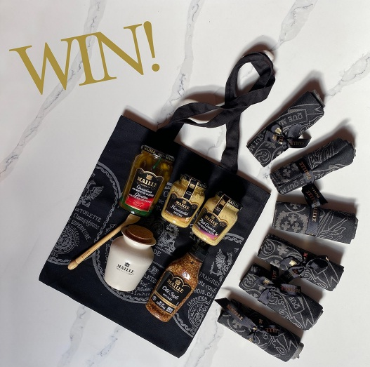 Maille Mustard Color Collection Giveaway