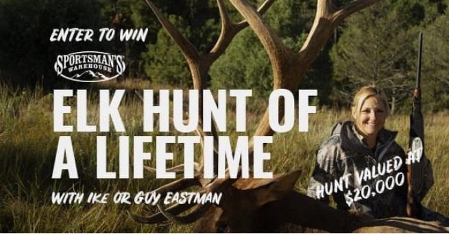 Sportsmans Warehouse Elk Hunt Of A Lifetime Sweepstakes