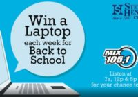 Laptop Every Week Back To School Contest