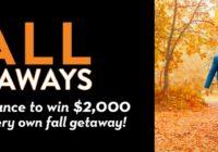 Meredith Corporation Fall Getaways Sweepstakes