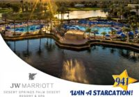 STARCATION At The JW Marriott Desert Springs Sweepstakes