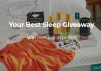 Okioki Your Best Sleep Giveaway