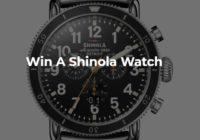 Rotary Digital Shinola Watch Sweepstakes