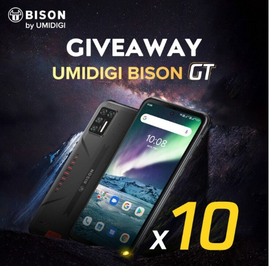 Umidigi Bison GT Giveaway