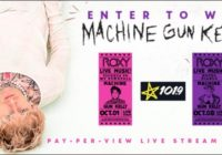 iHeartMedia And Entertainment MGK Pay-Per-View Live Stream Sweepstakes