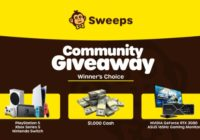 $1,000 Winner Choice Community Giveaway