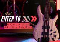 Bass Musician Magazine Cort Artisan A4 Ultra Ash Bass Giveaway