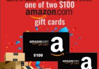 Showtimes.com Amazon Gift Card Sweepstakes
