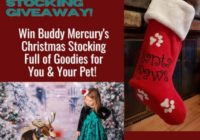 Buddy Mercury Christmas Stocking Giveaway