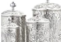 Leites Culinaria Art Nouveau Stainless Steel Canisters Giveaway