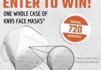 Bulletproof Zone KN95 Masks Giveaway