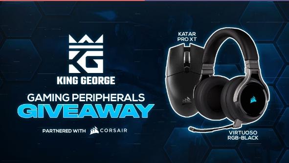 KingGeorge CORSAIR Peripherals Giveaway
