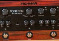 Sam Ash Quikship Corp. Fishman ToneDEQ Acoustic Guitar Preamp And Rare Earth Mic Blend Pickup MoodLiftMonday Giveaway