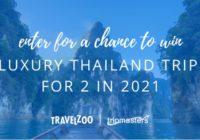 Travelzoo Trip To Thailand Sweepstakes