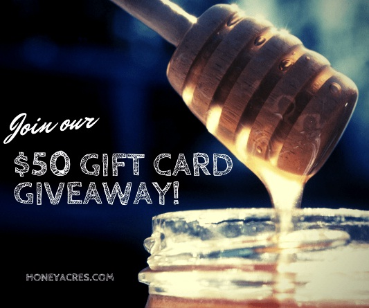 Honey Acres $50 Online Gift Card Giveaway