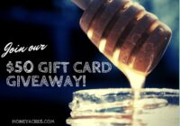 Honey Acres Refer-a-Friend $50 Gift Card Giveaway