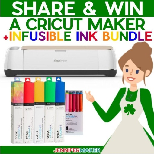 Jennifer Maker March 2021 Cricut Giveaway