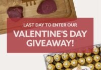North American Bison Valentine Day Giveaway