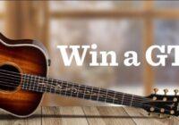 Taylor Guitars Winter Warmth Giveaway