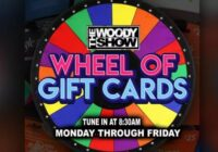 ALT 98.7 The Woody Show Wheel Of Cards Sweepstakes