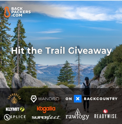 Backpackers.com Hit The Trail Giveaway