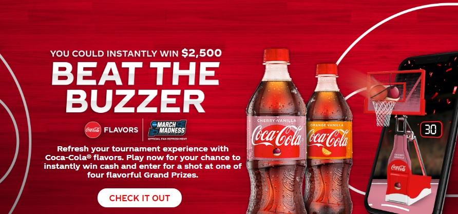 Coca-Cola And Baseball Sweepstakes