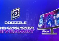 DDizzzle Pixio 144Hz Gaming Monitor Giveaway