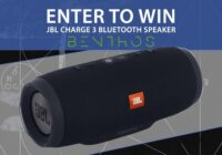 Eclipse Records Benthos JBL Charge 3 Bluetooth Speaker Giveaway