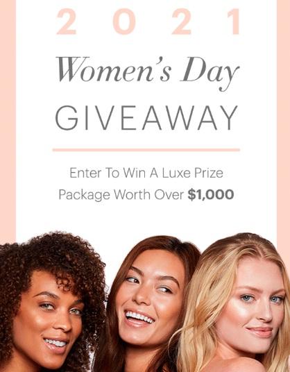 Glo Skin Beauty 2021 Woman Day Giveaway