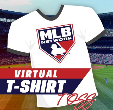 IHeartMedia Celebrate Opening Day With MLB And The Virtual T Shirt Toss Sweepstakes