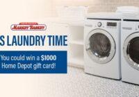 IHeartMedia Market Basket Custom Laundry Event Sweepstakes