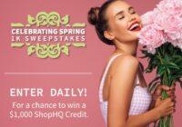 IMedia Brands ShopHQ Celebrating Spring Sweepstakes