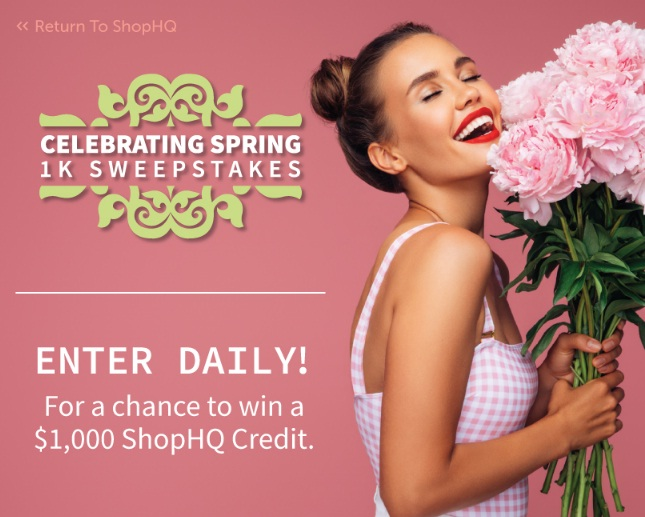 IMedia Brands ShopHQ Celebrating Spring Sweepstakes