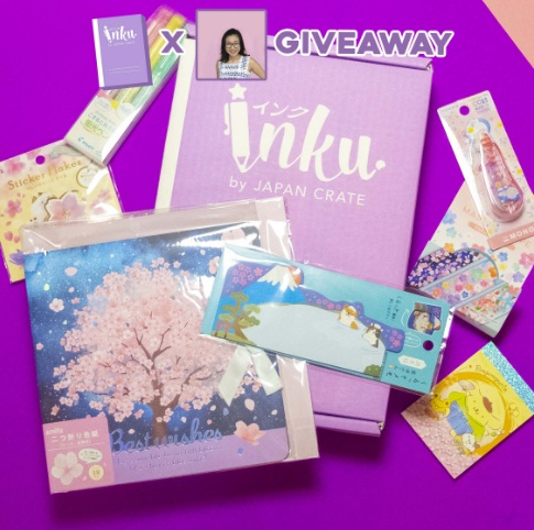 Japan Crate March Inku Crate Giveaway