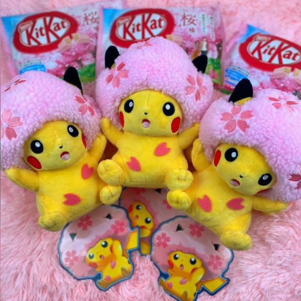 Japan Crate Sakura Pikachu And Sakura KitKat Giveaway