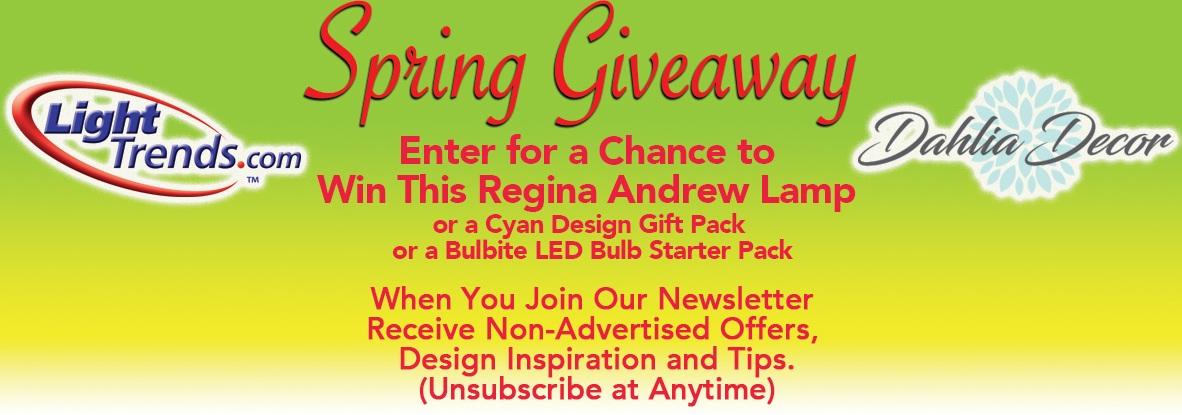 Lighttrends Spring Giveaway