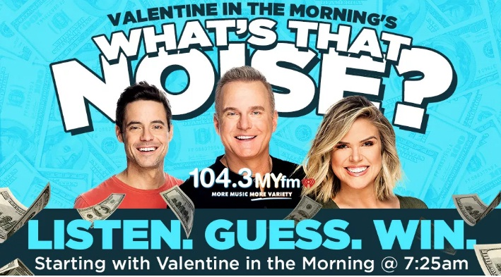 MYfm What That Noise Sweepstakes