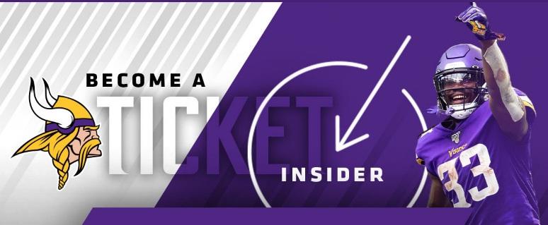 Minnesota Vikings Football Ticket Insider Sweepstakes
