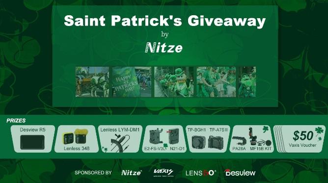 Nitze Video Setup Bundle Gifts Giveaway