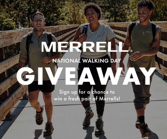 Peltzshoes.com Merrell National Walking Day Giveaway