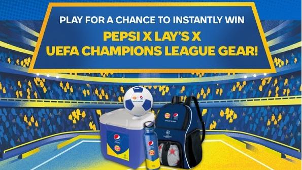 Pepsi-Cola UEFA Championship League Sweepstakes