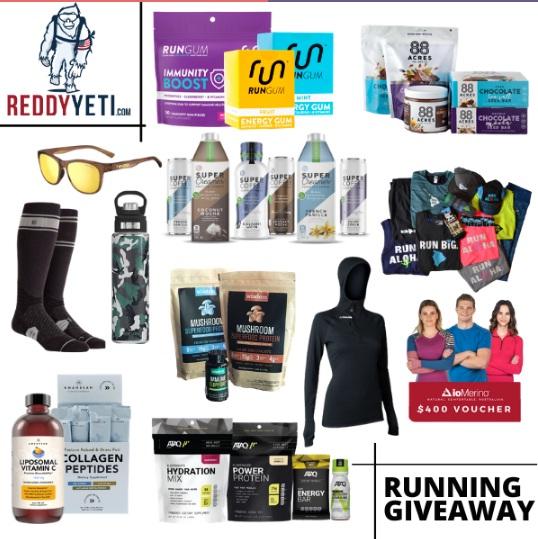 ReddyYeti.com 2021 Running March Giveaway