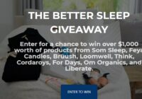 Som Friends The Better Sleep Giveaway